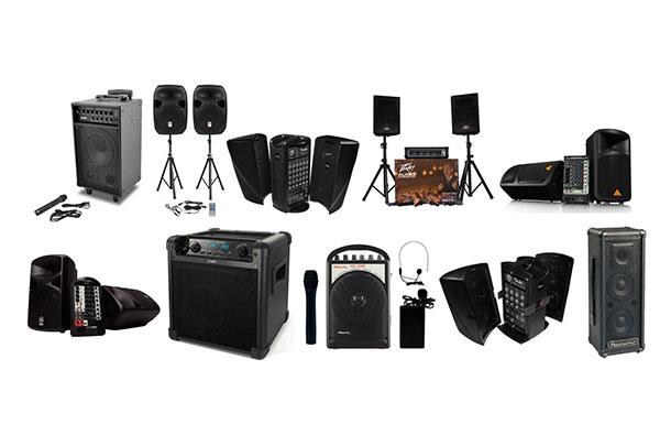 speakers rental dubai